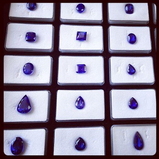 Collection de Saphirs