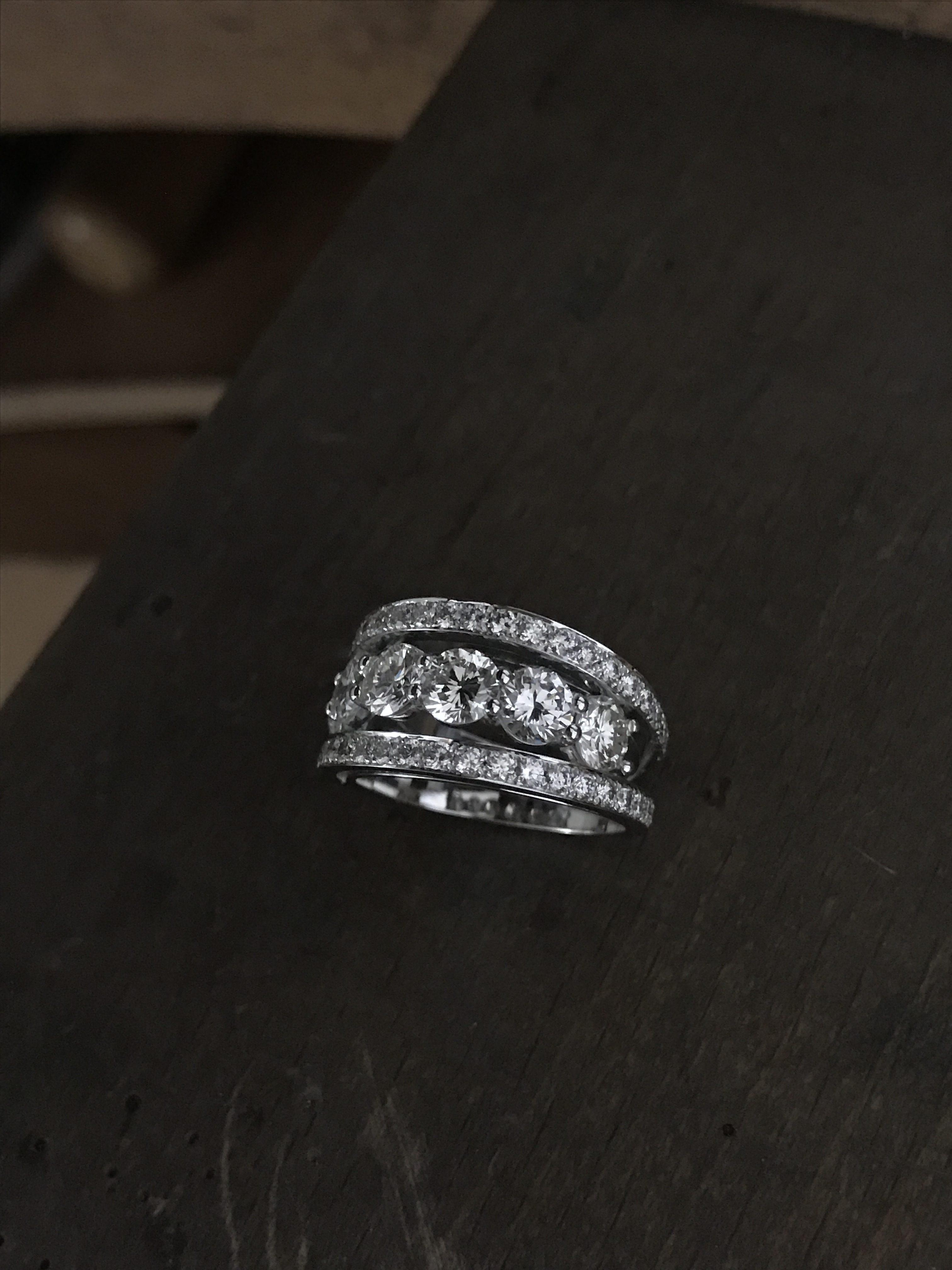 bague diamant de createur